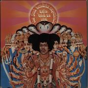 Jimi Hendrix Axis: Bold As Love - 1st + Insert - EX UK vinyl LP