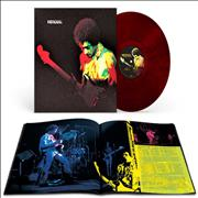 Click here for more info about 'Jimi Hendrix - Band Of Gypsys - 50th Anniversary - Red Marbled Vinyl'