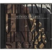 Jimi Hendrix Between The Lines USA CD album Promo