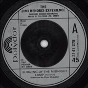 Click here for more info about 'Jimi Hendrix - Burning The Midnight Lamp - Injection Label'