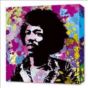 Click here for more info about 'Jimi Hendrix - Colours Camvas Print'