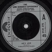 Click here for more info about 'Jimi Hendrix - Hey Joe - Injection Label'