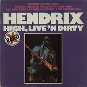 Click here for more info about 'Jimi Hendrix - High, Live 'n Dirty'