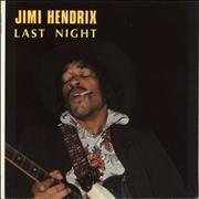 Click here for more info about 'Jimi Hendrix - Last Night'