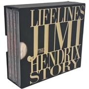Jimi Hendrix Lifelines USA 4-CD set