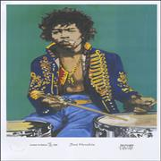 Click here for more info about 'Jimi Hendrix - Limited Edition Print - 250 Only'
