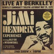 Click here for more info about 'Jimi Hendrix - Live At Berkeley - 180gm'
