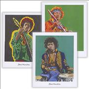Click here for more info about 'Jimi Hendrix - Pack Of Greetings Cards'