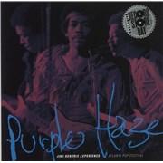 """Jimi Hendrix Purple Haze - RSD15 - Numbered Sleeve UK 7"""" vinyl"""