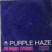 Click here for more info about 'Jimi Hendrix - Purple Haze EP'