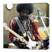 Click here for more info about 'Jimi Hendrix - Studio Canvas Print'