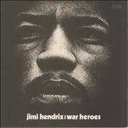 Click here for more info about 'Jimi Hendrix - War Heroes - Correction Stickered - VG'