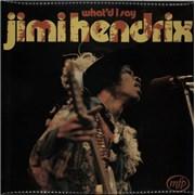 Jimi Hendrix What'd I Say - Front Laminated UK vinyl LP