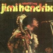 Click here for more info about 'Jimi Hendrix - What'd I Say - Textured Sleeve'