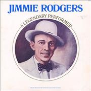 Jimmie Rodgers (Country) A Legendary Performer UK vinyl LP
