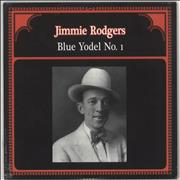 Jimmie Rodgers (Country) Blue Yodel No.1 - Sealed Italy vinyl LP