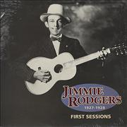 Jimmie Rodgers (Country) First Sessions USA vinyl LP