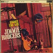 Jimmie Rodgers (Country) Jimmie The Kid UK vinyl LP