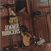 Jimmie Rodgers (Country) Jimmie The Kid USA vinyl LP