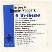 Jimmie Rodgers (Country) The Songs Of Jimmy Rodgers USA CD album Promo