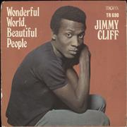 Click here for more info about 'Jimmy Cliff - Wonderful World, Beautiful People - P/S - EX'