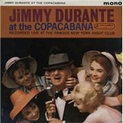Jimmy Durante At The Copacabana UK vinyl LP Promo