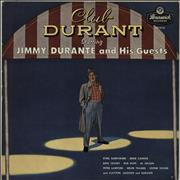 Jimmy Durante Club Durant Starring Jimmy Durante And His Guests UK vinyl LP
