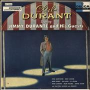 Jimmy Durante Club Durant Starring Jimmy Durante And His Guests USA vinyl LP