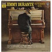 Jimmy Durante September Song UK vinyl LP Promo
