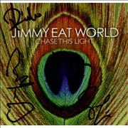 Click here for more info about 'Jimmy Eat World - Chase This Light - Autographed'