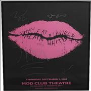 Click here for more info about 'Jimmy Eat World - Mod Club Theatre - Signed Concert Poster'