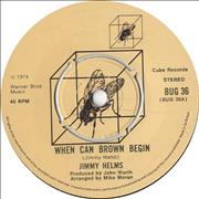 Click here for more info about 'Jimmy Helms - When Can Brown Begin'