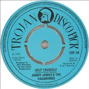 Click here for more info about 'Jimmy James & The Vagabonds - Help Yourself - 1975 issue'
