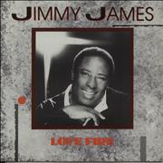 Click here for more info about 'Jimmy James & The Vagabonds - Love Fire'