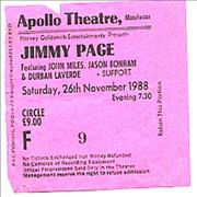 Click here for more info about 'Jimmy Page - Apollo Theatre'