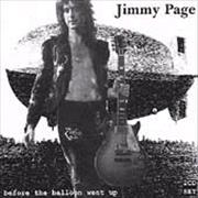 Click here for more info about 'Jimmy Page - Before The Balloon Went Up'