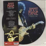 Jimmy Page Burn Up UK picture disc LP