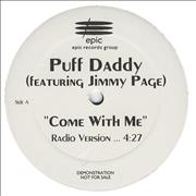 Click here for more info about 'Jimmy Page - Come With Me - Promo'