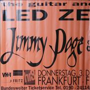 Click here for more info about 'Jimmy Page - Frankfurt 1998 Tour'