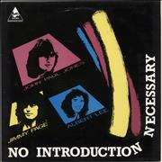 Jimmy Page No Introduction Necessary UK vinyl LP