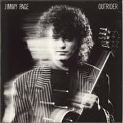 Jimmy Page Outrider - EX UK vinyl LP