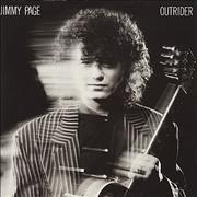 Jimmy Page Outrider UK vinyl LP