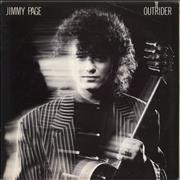 Jimmy Page Outrider USA vinyl LP