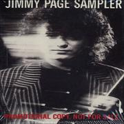 Jimmy Page Jimmy Page Sampler USA cassette single Promo