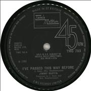 Click here for more info about 'Jimmy Ruffin - I've Passed This Way Before'