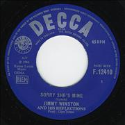Click here for more info about 'Jimmy Winston And His Reflections - Sorry She's Mine'