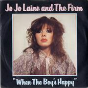Click here for more info about 'Jo Jo Laine And The Firm - When The Boy's Happy'