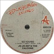 Click here for more info about 'Jo Jo Zep And The Falcons - So Young'