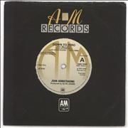 "Joan Armatrading Down To Zero UK 7"" vinyl"