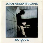 "Joan Armatrading No Love UK 7"" vinyl"